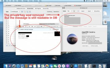 Apple mail encrypted messages