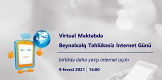 Beynəlxalq Təhlükəsiz İnternet Günü ilə əlaqədar vebinar keçiriləcək